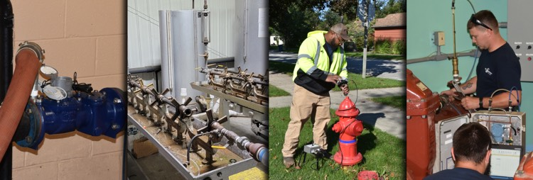ME Simpson offers water loss control services to make your water systems work more efficiently.