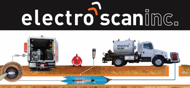 ME Simpson uses Electro Scan leak detection services and technology to help your sewer systems.