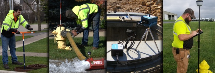 ME Simpson technicians have the technology and know-how to provide quality asset management for water systems.