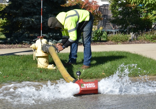 ME Simpson can test fire hydrants and water flow systems to ensure they are operating effectively and efficiently.