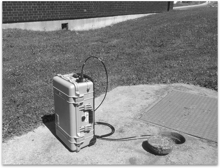Acoustic leak detection services were added to ME Simpson's list of services in the mid-2000s for even greater offerings.
