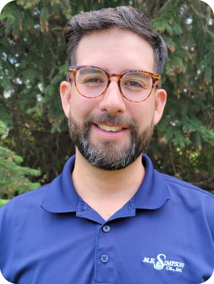 ME Simpson Regional Manager Carlos Covarrubias is just one of the team ready to help you with your water management needs.