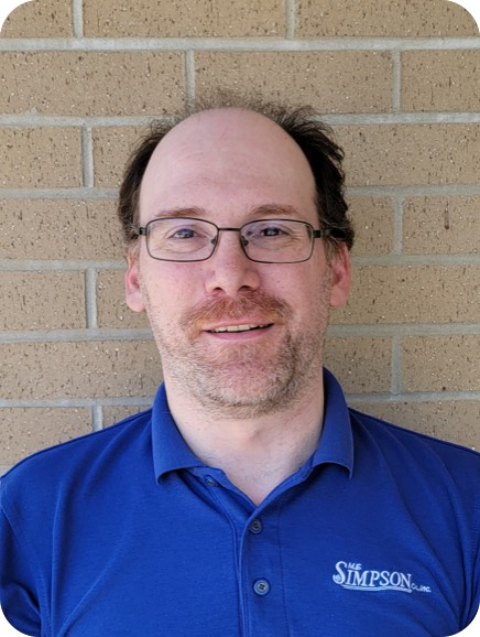 All departments are important at ME Simpson and all managers key such as our IT Coordinator Eric Gerlach.