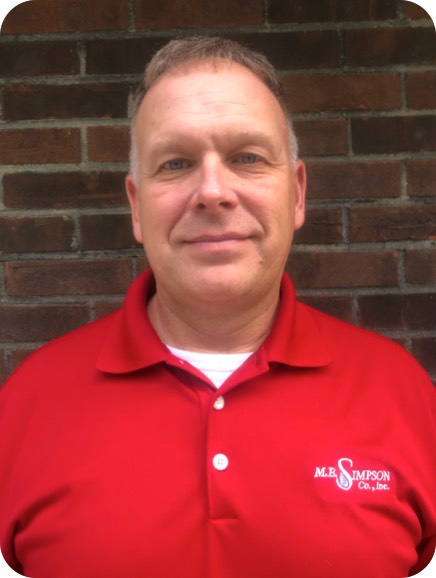 Meet the staff that helps make ME Simpson great including Regional Manager Jeff Cunningham